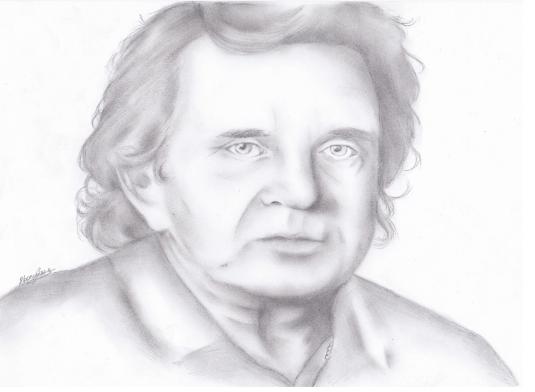 Johnny Cash por NollaFae